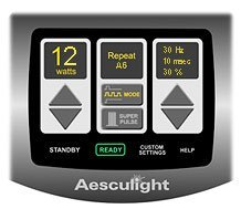 Aesculight Touch Screen