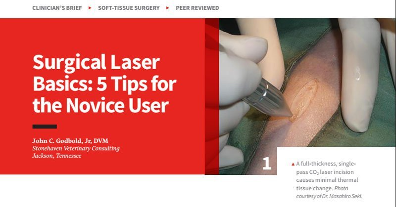 Surgical Laser Basics: 5 Tips for the Novice User