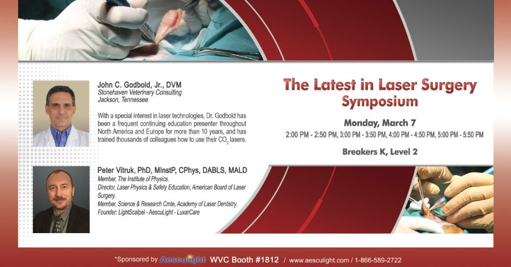 laser symposium at wvc 2016