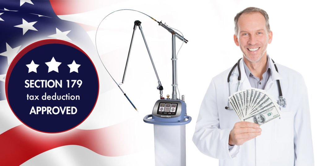 Aesculight Veterinary Laser - Section 179 Savings