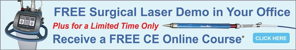 Free CE with Surgical Laser Demo