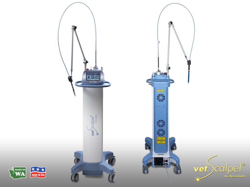 vetscalpel laser front and back view