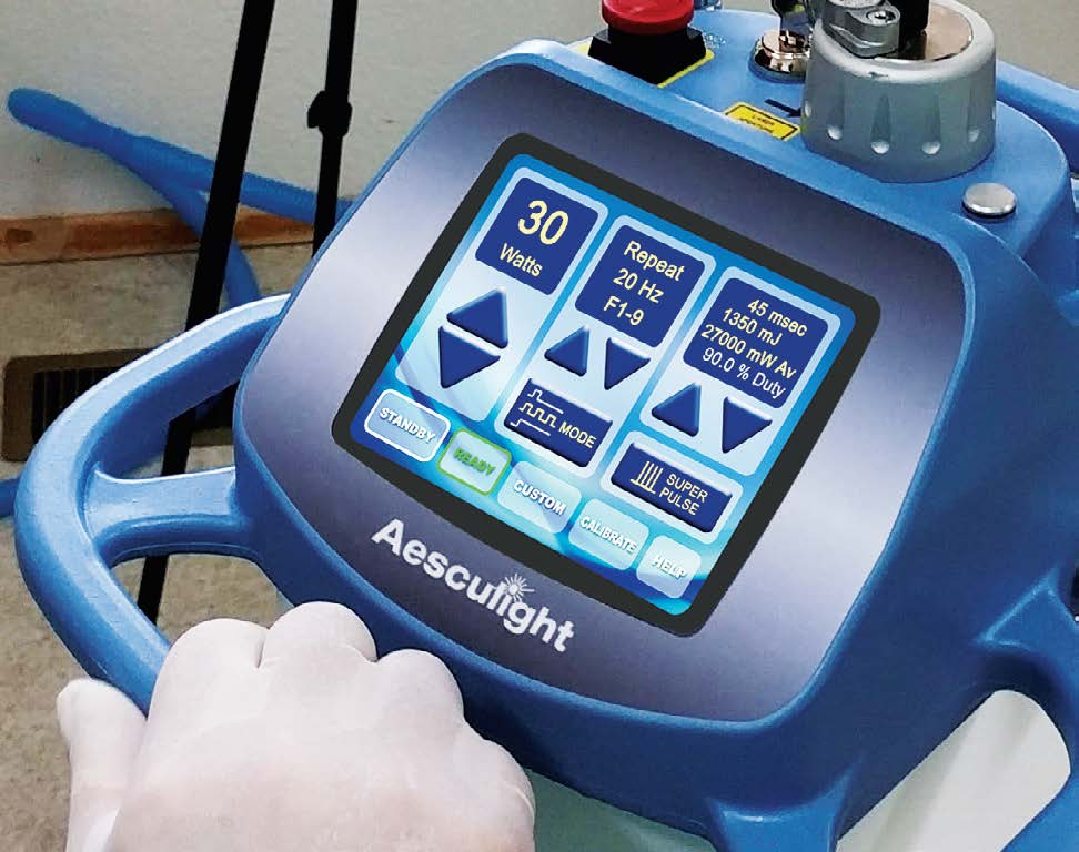 FIGURE 5: VetScalpel's simplified control panel makes adjusting power easy.
