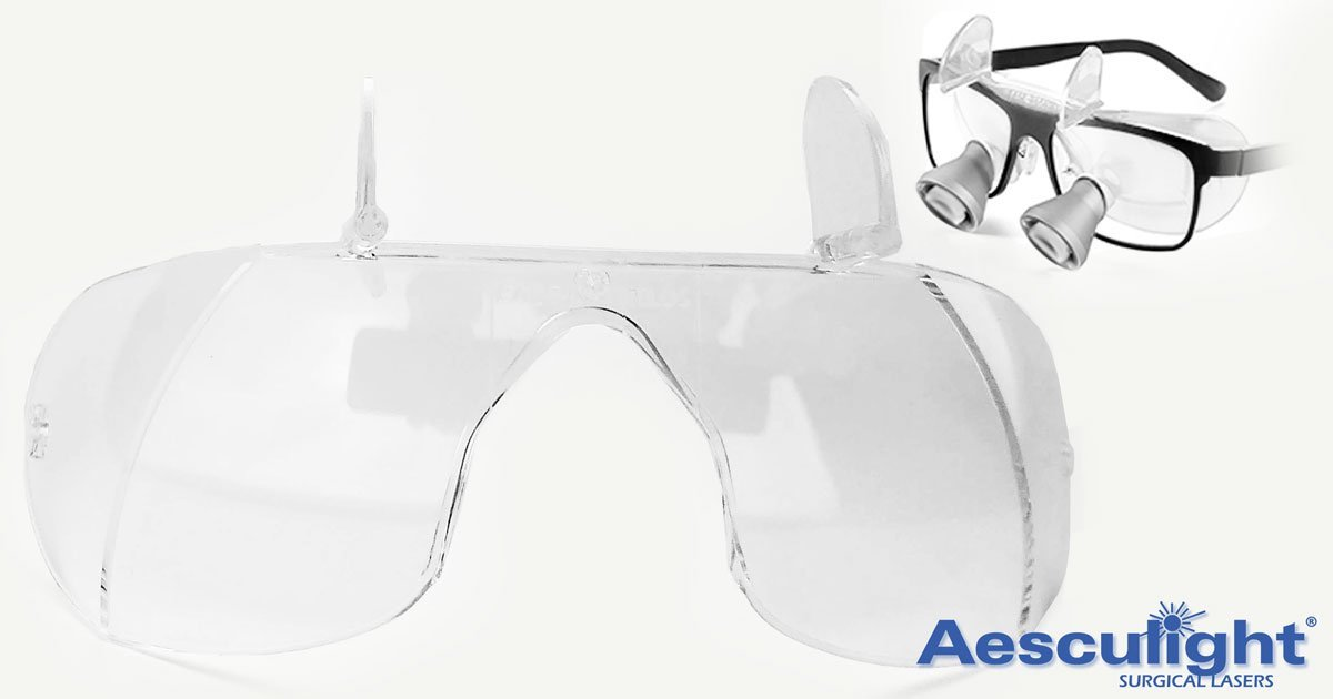 New Eye Laser Protection for Loupes and Glasses